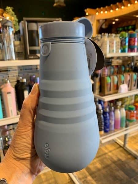 Stojo Collapsible Water Bottle 20oz Steel