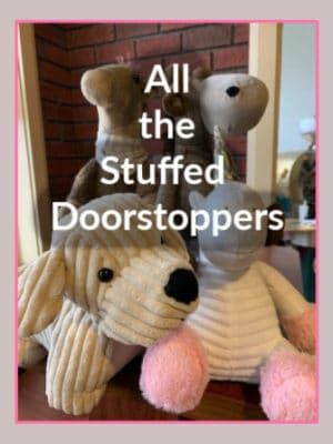 Stuffed Doorstoppers