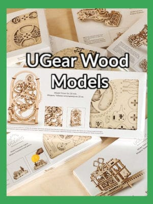 UGears Wood Models
