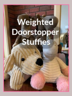 Weighted Doorstopper Stuffies