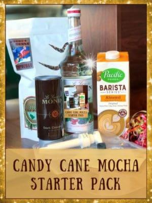 candy cane mocha starter pack