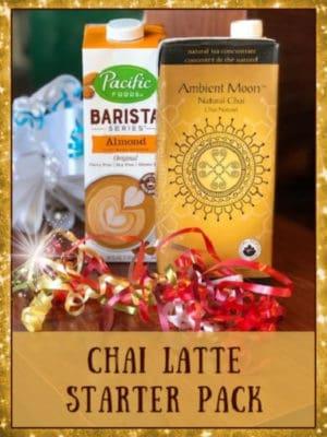 chai latte starter pack