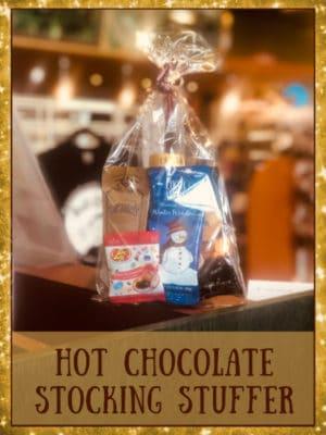 hot chocolate stocking stuffer