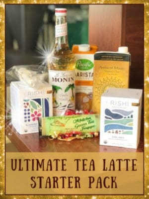 ultimate tea latte starter pack