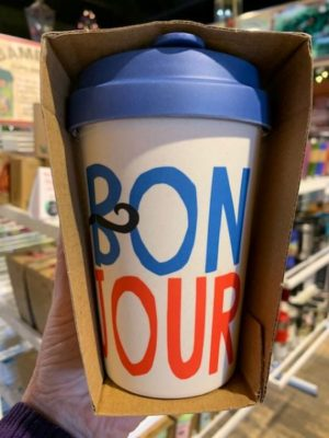 Chic Mic Bamboo Travel Cup Bonjour