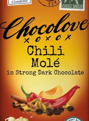 Chocolove Chili Mole Strong Dark 70% Chocolate