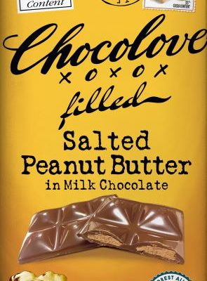 Chocolove Salted Peanut Butter in 33% Milk Chocolate
