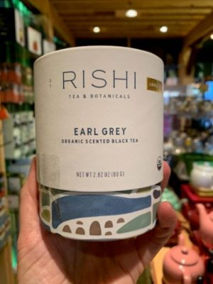 Rishi Earl Grey Black Tea, Loose