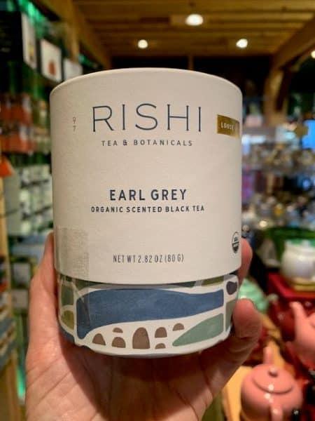 Rishi Earl Grey Black Tea, Loose