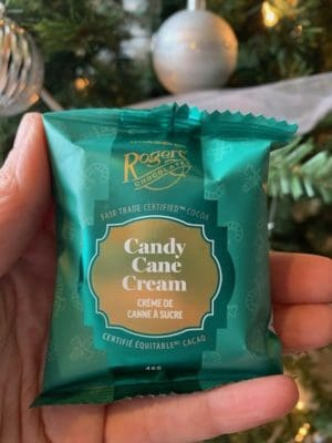 Roger's Chocolate's Victoria Cream - Candy Cane