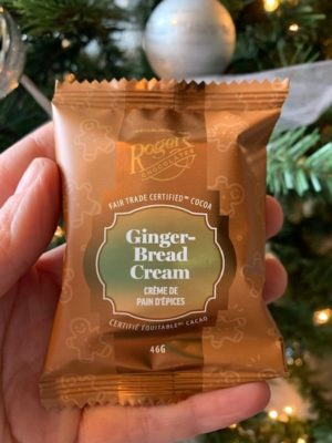 Roger's Chocolate's Victoria Cream - Gingerbread
