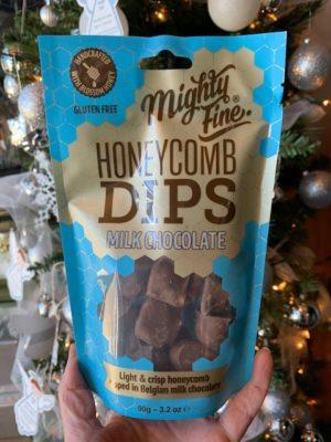 Mighty Fine Honeycomb Dips, Milk Chocolate