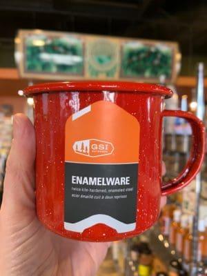 Enamel Cup Red 12oz