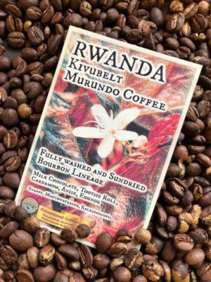 Rwanda Kivubelt Murundo Coffee Label