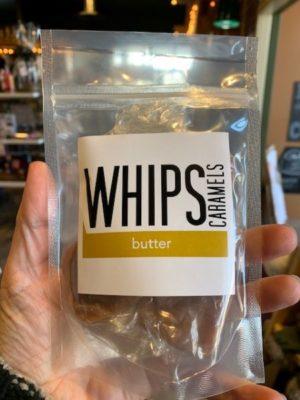 Whips Butter Caramels Bag