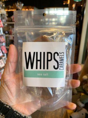 Whips Sea Salt Caramels Bag
