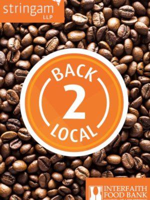 Stringham LLP Back 2 Local Medium Roast Coffee