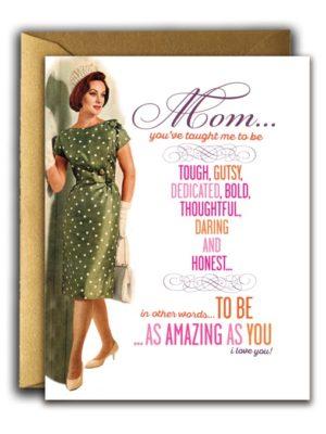 Amazing Mom Card