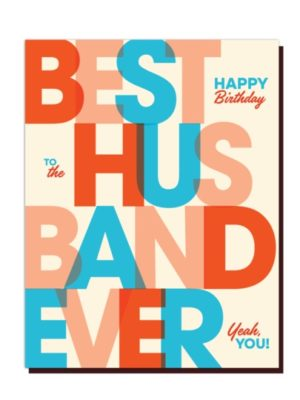 Best Husband Card