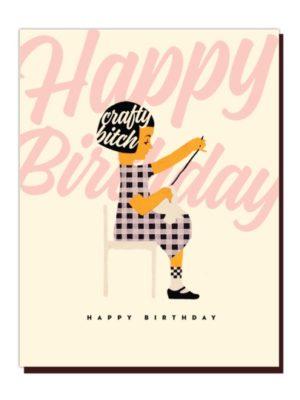 Happy Birthday Crafty Card