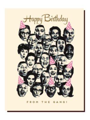 Happy Birthday Gang Card
