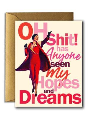 Hopes and Dreams Card