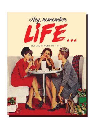 Remember Life Card