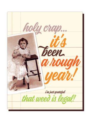 Rough Year Card