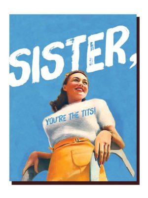 Sister Tits Card