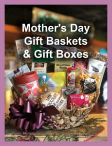 Mother's Day Large Gift Basket title