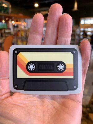 Vinyl Sticker Cassette