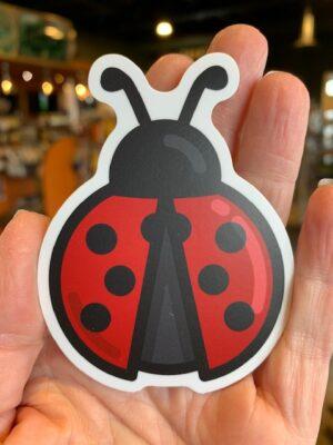 Vinyl Sticker Ladybug