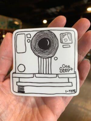 Vinyl Sticker Polaroid Camera