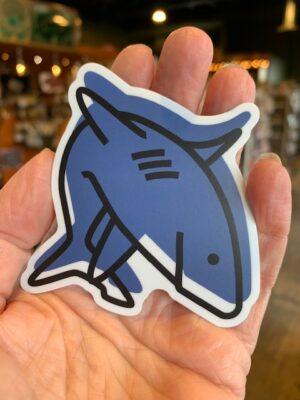 Vinyl Sticker Shark
