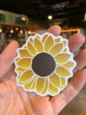 Vinyl Sticker Sunflower 2