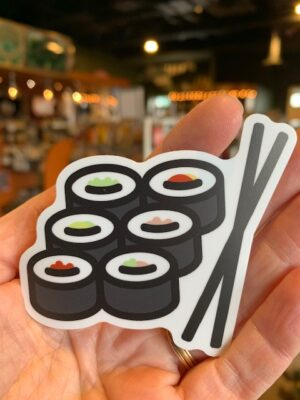Vinyl Sticker Sushi