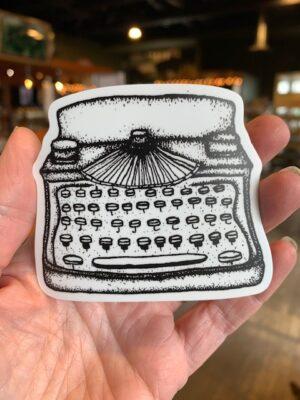 Vinyl Sticker - Typewriter