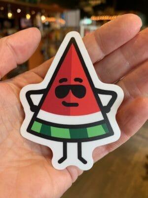 Vinyl Sticker Watermelon Sunglasses