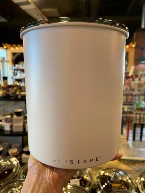 Airscape Kilo White Canister