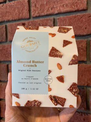 Milk Chocolate Almond Butter Crunch 100g
