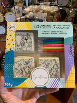 Colouring Cookies - Animal Friends
