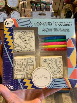 Colouring Cookies - Monsters & Robots