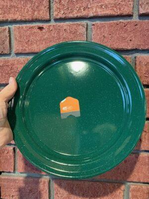 Green Enamel Plate