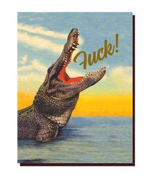 Offensive & Delightful Crocodile F!