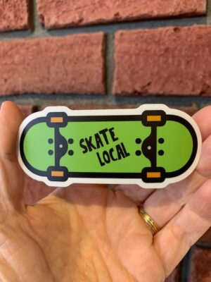 Vinyl Sticker - Skate Local