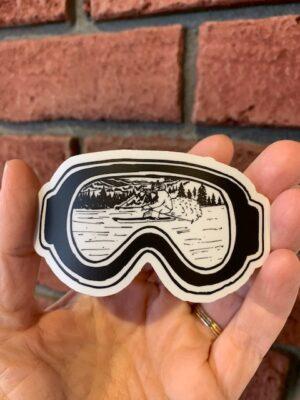 Vinyl Sticker - Ski Goggles