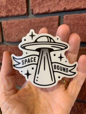 Vinyl Sticker - Space Bound